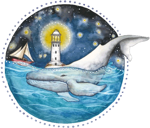 Augusta Whalesong Painted Logo